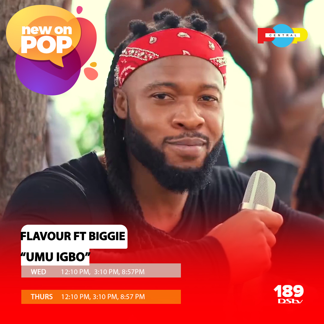 """Igbo kwenu! Catch the video for """"Umu Igbo"""" by the sweet Flavour of Africa @2niteFlavour and Biggie Igba at the times listed on Popcentral, DStv Ch189!  #popcentraltv #thisispopcentral #popcentralonline #popcentral #wednesdaythought #WednesdayMotivation #WCW #EndSARS"""