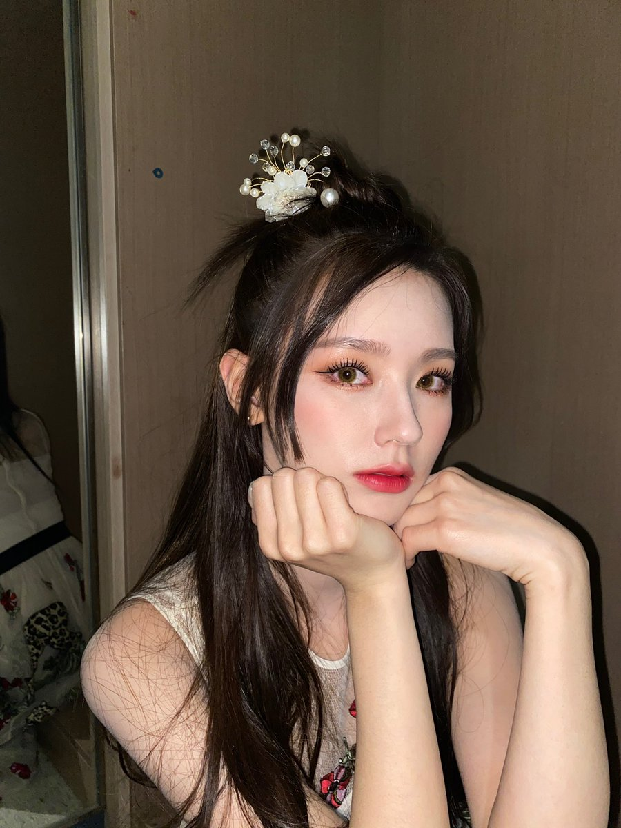 Replying to @G_I_DLE: [#미연] ❤️