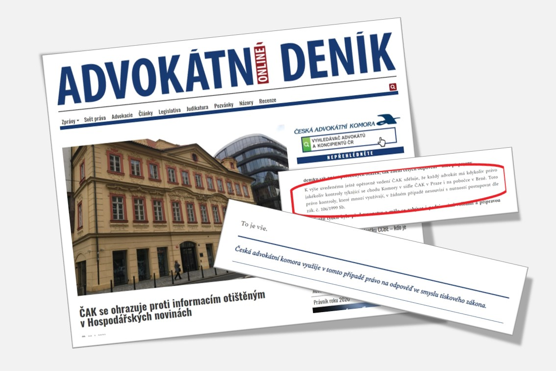 test Twitter Media - ⚠️#AdvokátníDeník zveřejnil přesné znění otázek a odpovědí, které @CAK_cz poskytla https://t.co/Ohb1NSE9vH @Pokorny_Marek. K tomuto ráznému kroku nás vedl fakt, že v hrubém rozporu se skutečností odpovědi nepoužil a ve svém článku sděluje lživé informace. https://t.co/l55dJCMbkH https://t.co/9b0oR6QPvA