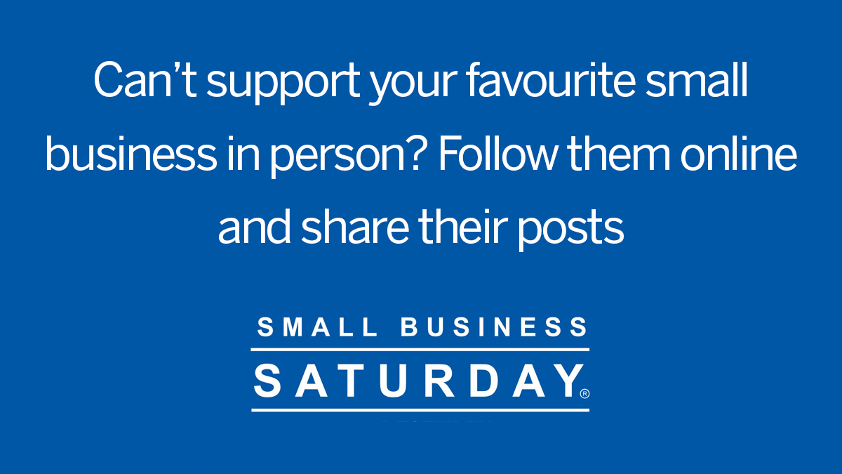 Supporting small businesses doesn't need to cost a penny: follow your favourites online, give them a like, share with your friends, comment on their posts or leave a fantastic review!