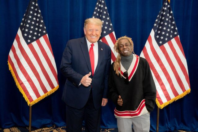 American rappers Lil Wayne and Kodak Black were among the high profile figures granted pardon by the out-going president of the United States of America, Donald Trump. #InaugurationDay #WednesdayMotivation #LekkiMassaccre