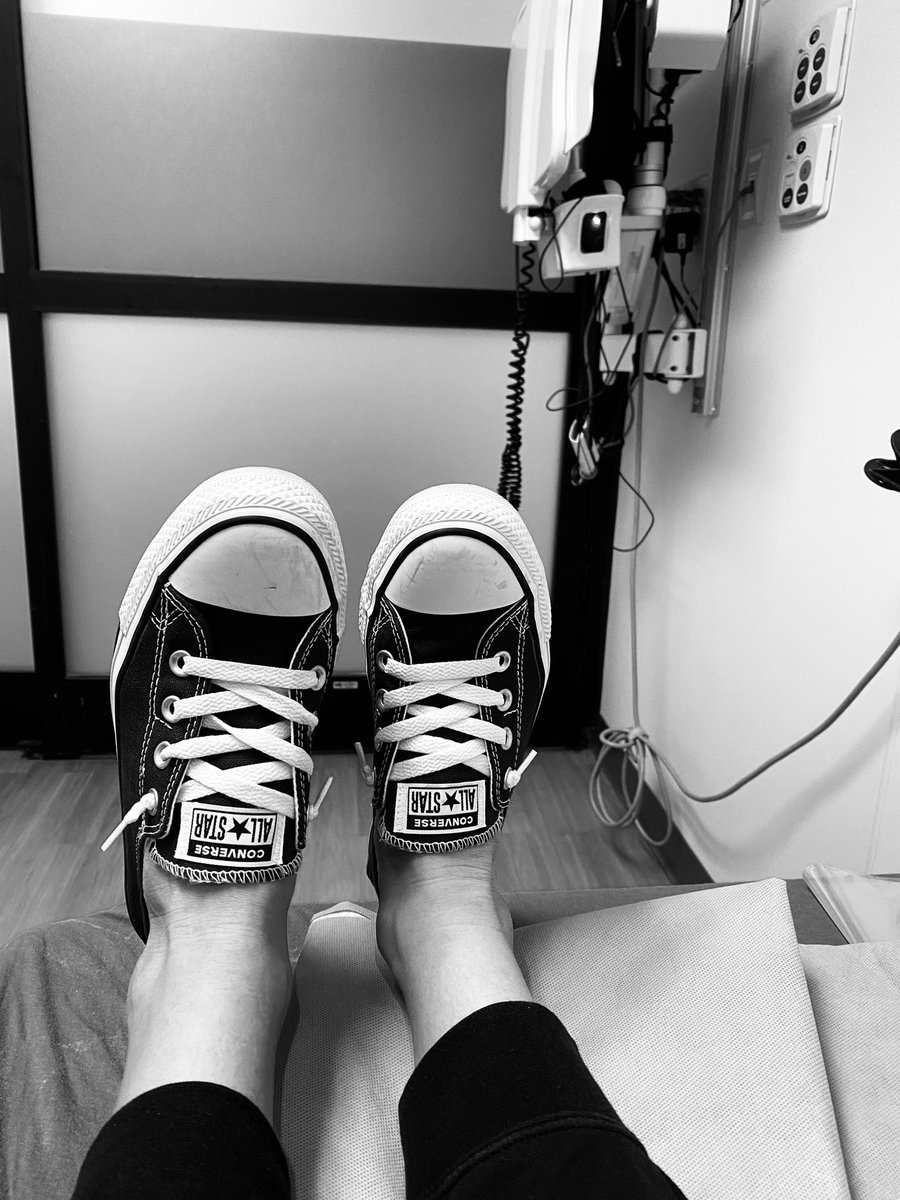 No pearls allowed in pre-op, but sporting the converse as long as they will let me. #PearlsAndChucks #InaugurationDay