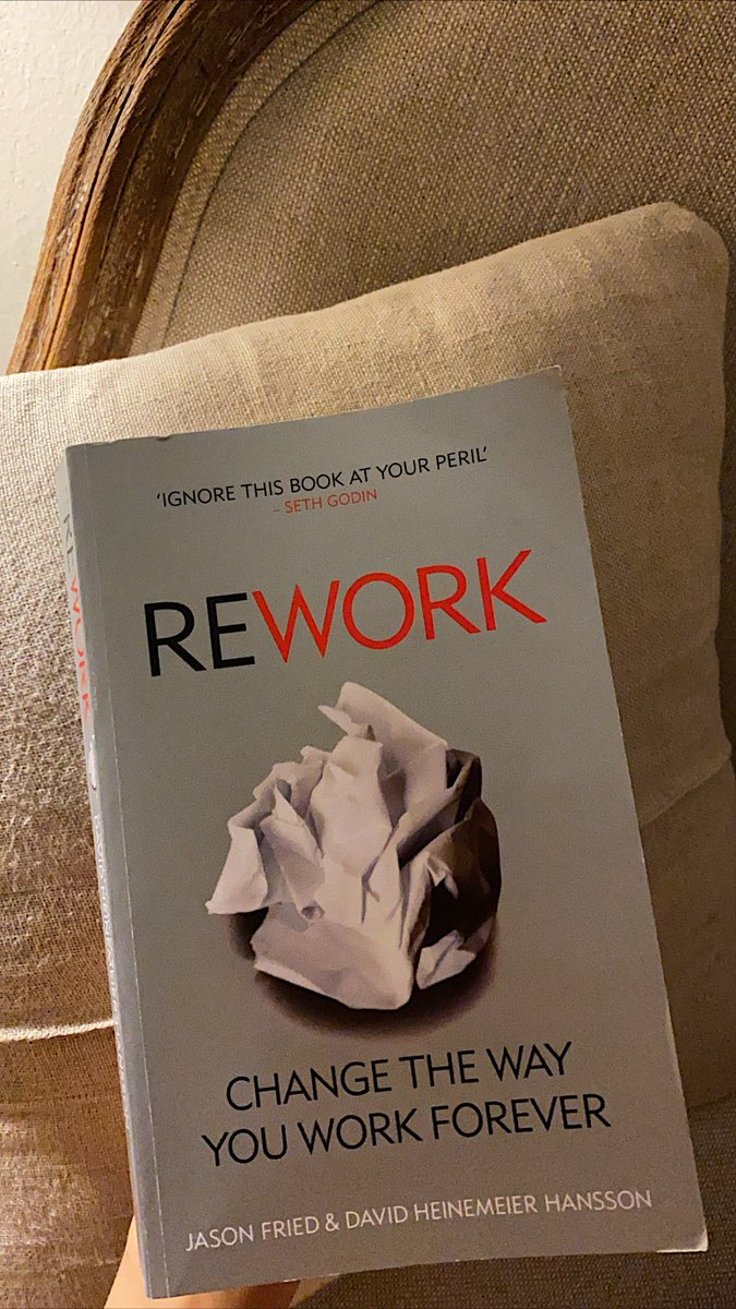 Rework by Jason fried This is great for business owners, and one key point that I learned is - focus on your product and the value it provides, not on the competition.
