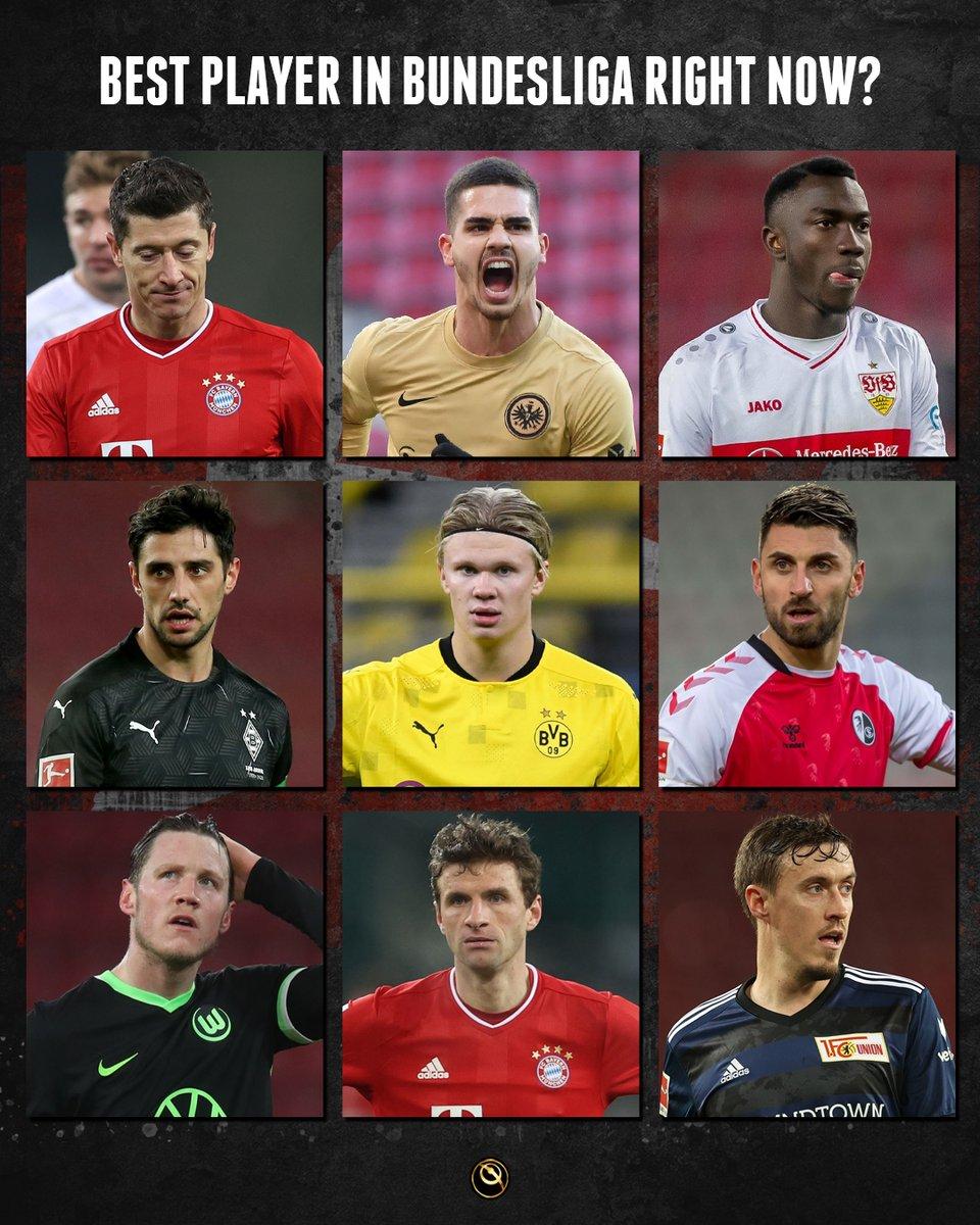 🇩🇪 Who's the best Bundesliga player right now: Lewandowski, Andre Silva, Wamangituka, Lars Stindl, Haaland, Vincenzo Grifo, Wout Weghorst, Thomas Müller or Max Kruse?