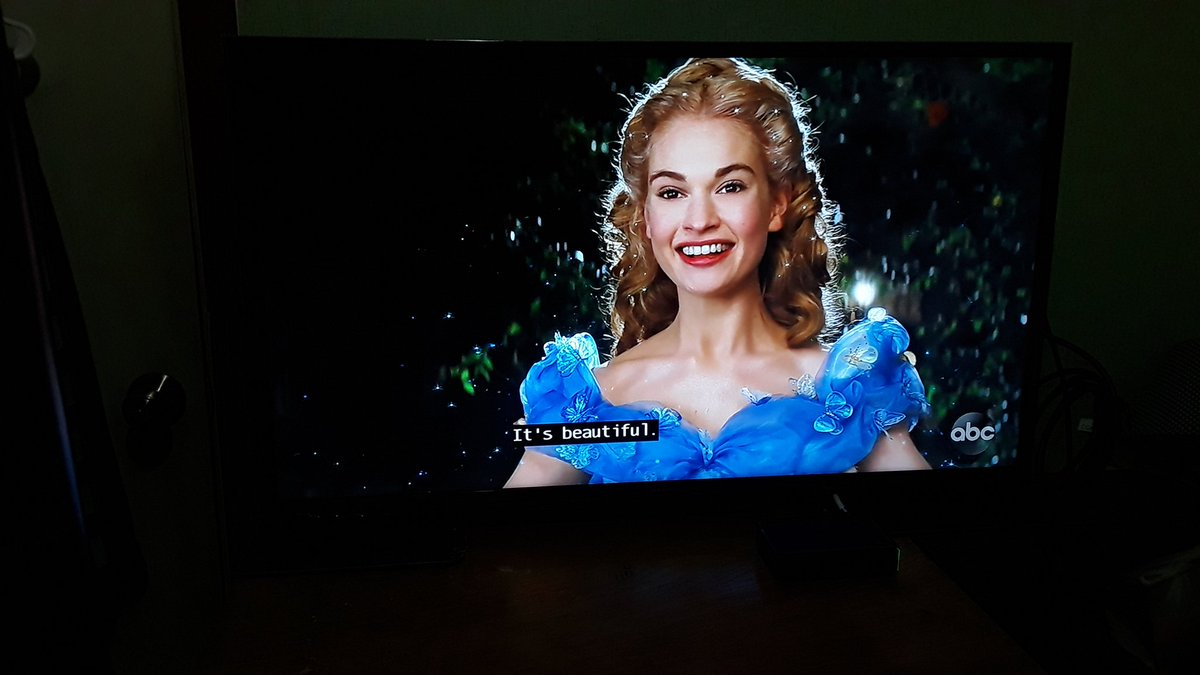 First time to watch this movie. In fairness, it was so #beautiful; especially the #amazing cast. 🙂😊📺🎥🎬🎞🎫🎭🌟👸👑👗👠⏳🕛🏰❤️ #Cinderella #Disney #DisneyPrincess #TheWonderfulWorldOfDisney #movietrip #TVcraze #ABCAwesome @CinderellaMovie @DisneyStudios @Disney @ABCNetwork