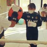 Image for the Tweet beginning: こんにちは!  今日も楽しく #kickboxing!🥊  #パンチ、#キック の打ち方を #マスター すれば