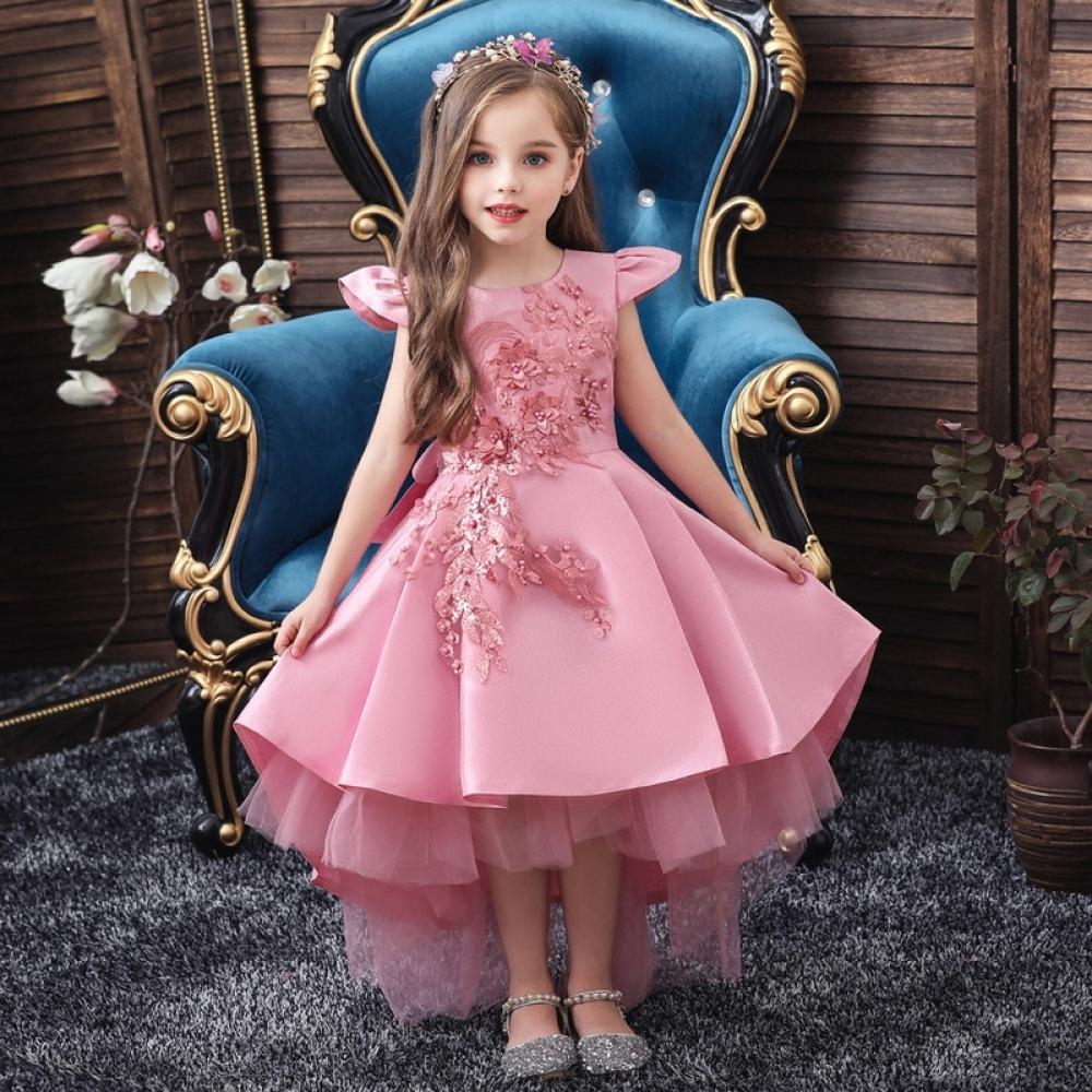 2020 new summer flower girl wedding party birthday dress princess dress girl Tutu vestido baby kids big bow elegant dress 3-12 T   #fashion|#sport|#tech|#lifestyle
