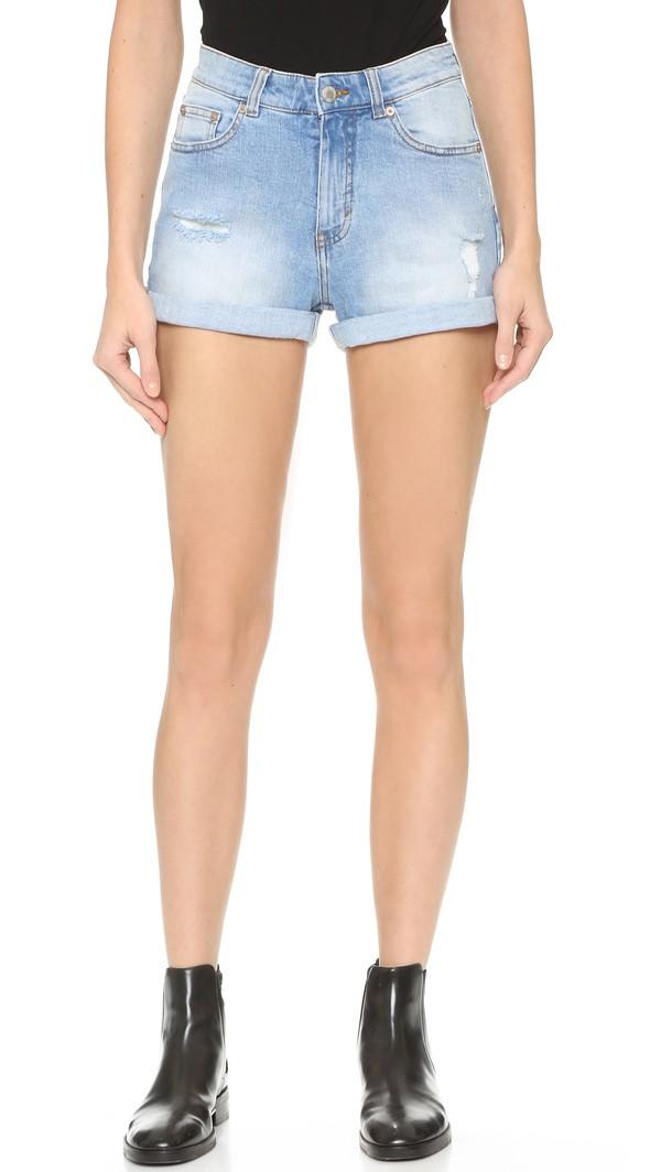 Cheap Monday Donna Shorts - Air Blue  #fashion
