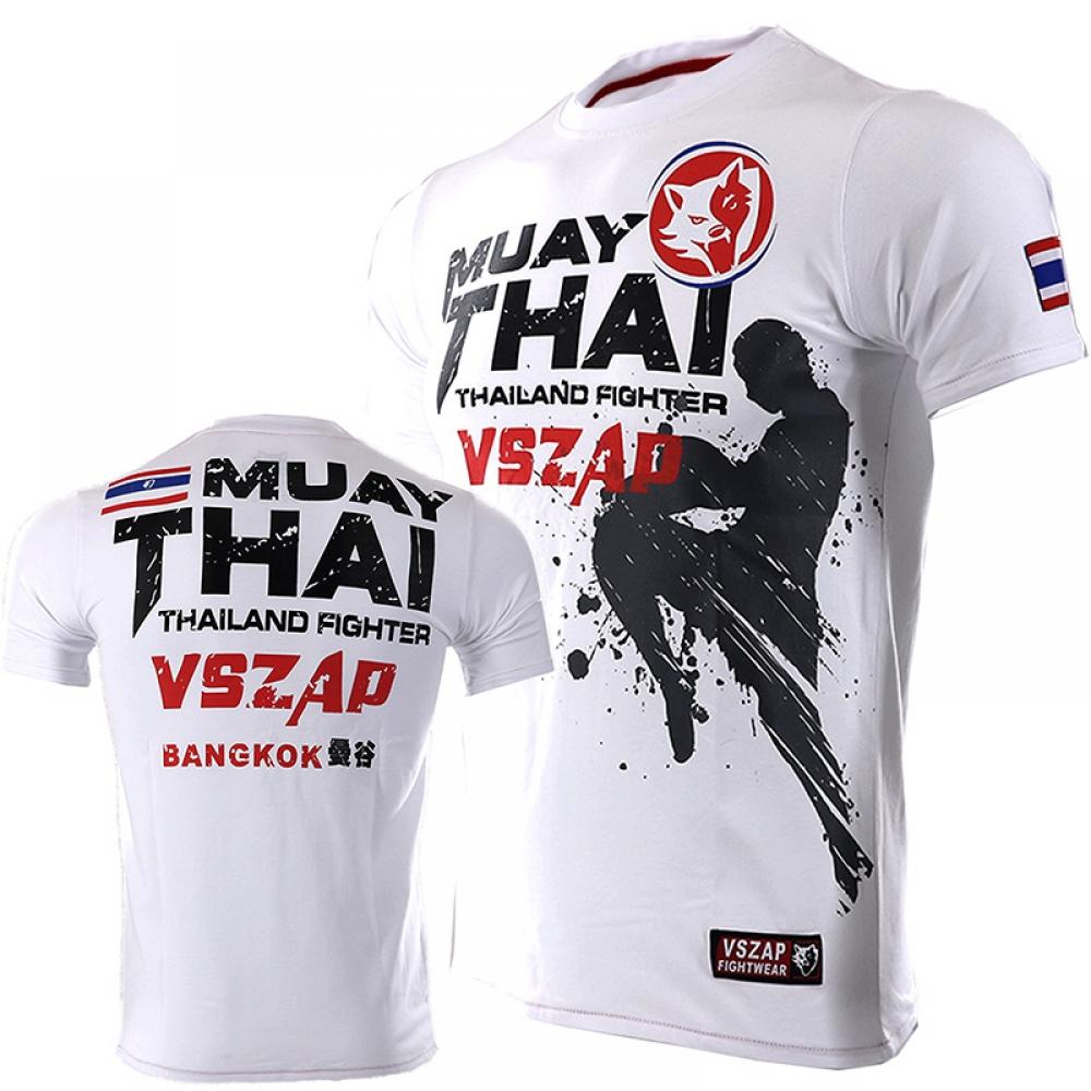 Men's Muay Thai Sports T-Shirts #fashion #free