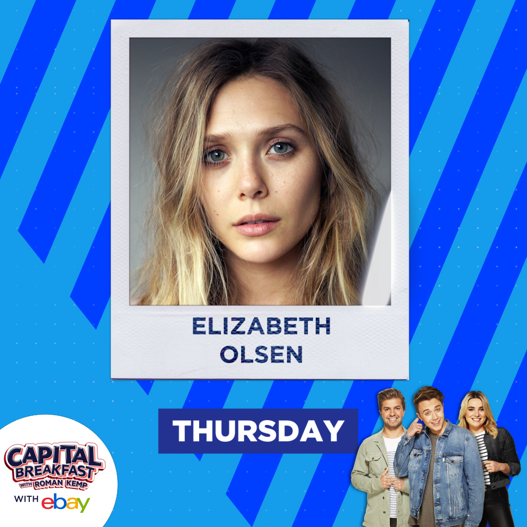 Only one more day until another episode of #WandaVision, which means Capital Breakfast with @romankemp just HAVE to hang out with Elizabeth Olsen. 📺