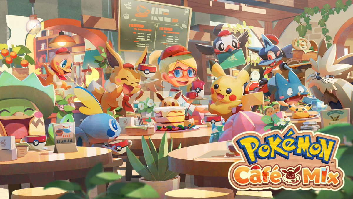 Serebii Update: Some new details for upcoming changes to Café Mix. Orders to reduce to 30 Orders per batch released every two weeks from next month with some repeating events. A major update to the game will then be detailed in March. Details @