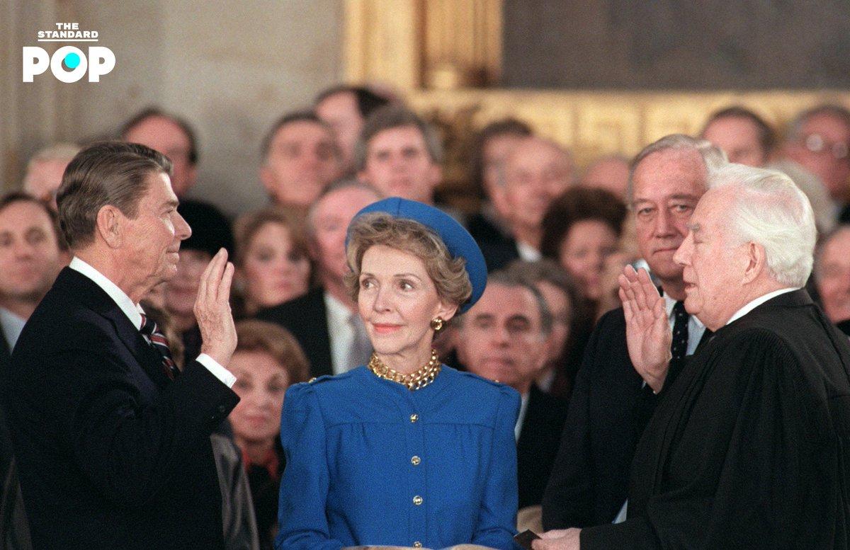 (2) Nancy Reagan, 1985 #Inauguration2021  #InaugurationDay #TheStandardPop