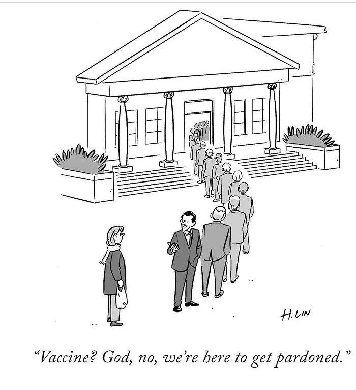 #newyorkercartoons #Pardons #DonaldTrump