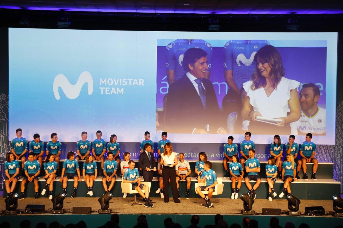 Ⓜ️✨ LA PRESENTACIÓN #MOVISTARTEAM2021, ESTE JUEVES (10.00 🇪🇺, 📺 @vamos y YouTube → )  Muchos actos distintos en estos 42 años -los últimos 10 en Distrito @Telefonica-. El de 2021, muy especial: en Almería y en el Estudio Michael Robinson ❤️ @MovistarPlus