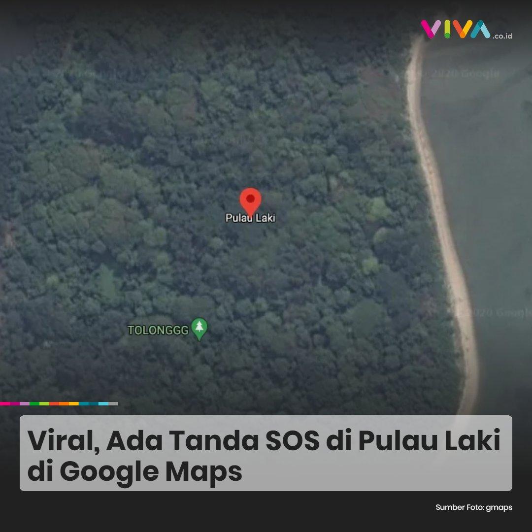Sedang viral di media sosial, netizen membahas soal tanda SOS di Pulau Laki, Kepulauan Seribu yang nampak di aplikasi Google Maps hingga Rabu 20 Januari 2021 pagi ini.   #vivacoid #pulaulaki #trending #SOSpulaulaki #sriwijayaair