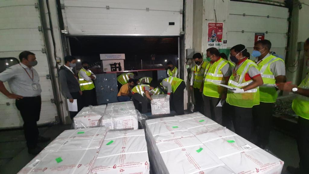 May all be free from disease.  India dispatches 1.5 lakh doses of Covishield vaccine to Bhutan. The 431 Kg shipment has been transported from Pune to Bagdogra on civil aircraft.