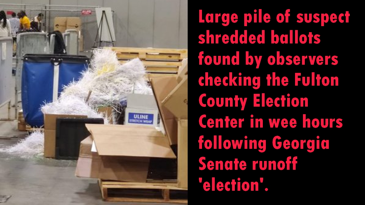 @MattWalshBlog Georgia GOP Gov & Sec of State did nothing to secure the integrity of the runoff election as predicted by Powell & Wood. Same system, same exact shenanigans as 11/3. GOP candidates had ZERO chance of winning regardless of the actual vote count. No Justice.  #Georgia #USA #America