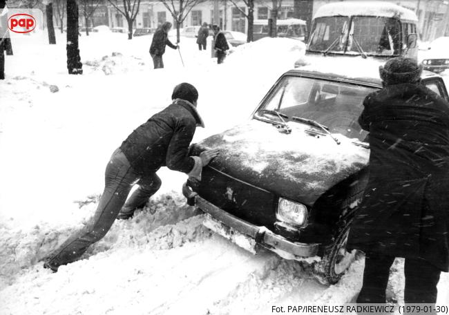 Zima stulecia. Warszawa, styczeń 1979 r.