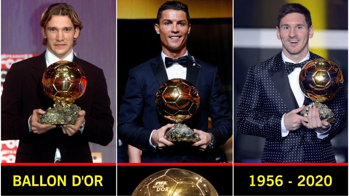 Ballon d'Or Winners List  ⚽  1956 - 2020  ⚽  @YouTube aracılığıyla   #ballondor #FIFA #FIFA21 #Bundesliga #Ligue1 #LaLiga #SerieA #PremierLeague #eredivisie #süperlig #Messi #Ronaldo #CR7 #Neymar #Lewandowski #MesutOzil