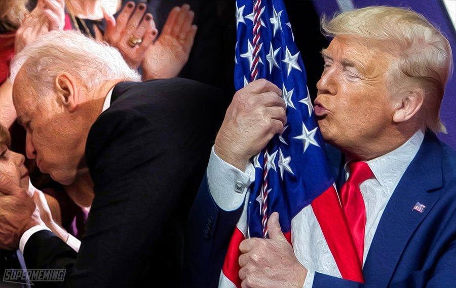 Il est quasi 9h (heure Corse) #BoycottTwitter20janvier en hommage à ce #DonaldTrump et à tous les #Patriots #MAGA et fuck aux détracteurs - notre choix est fait, quel est le vôtre ? #EvvivaTrump Rispettu from Corsica Monsieur and Madame Trump
