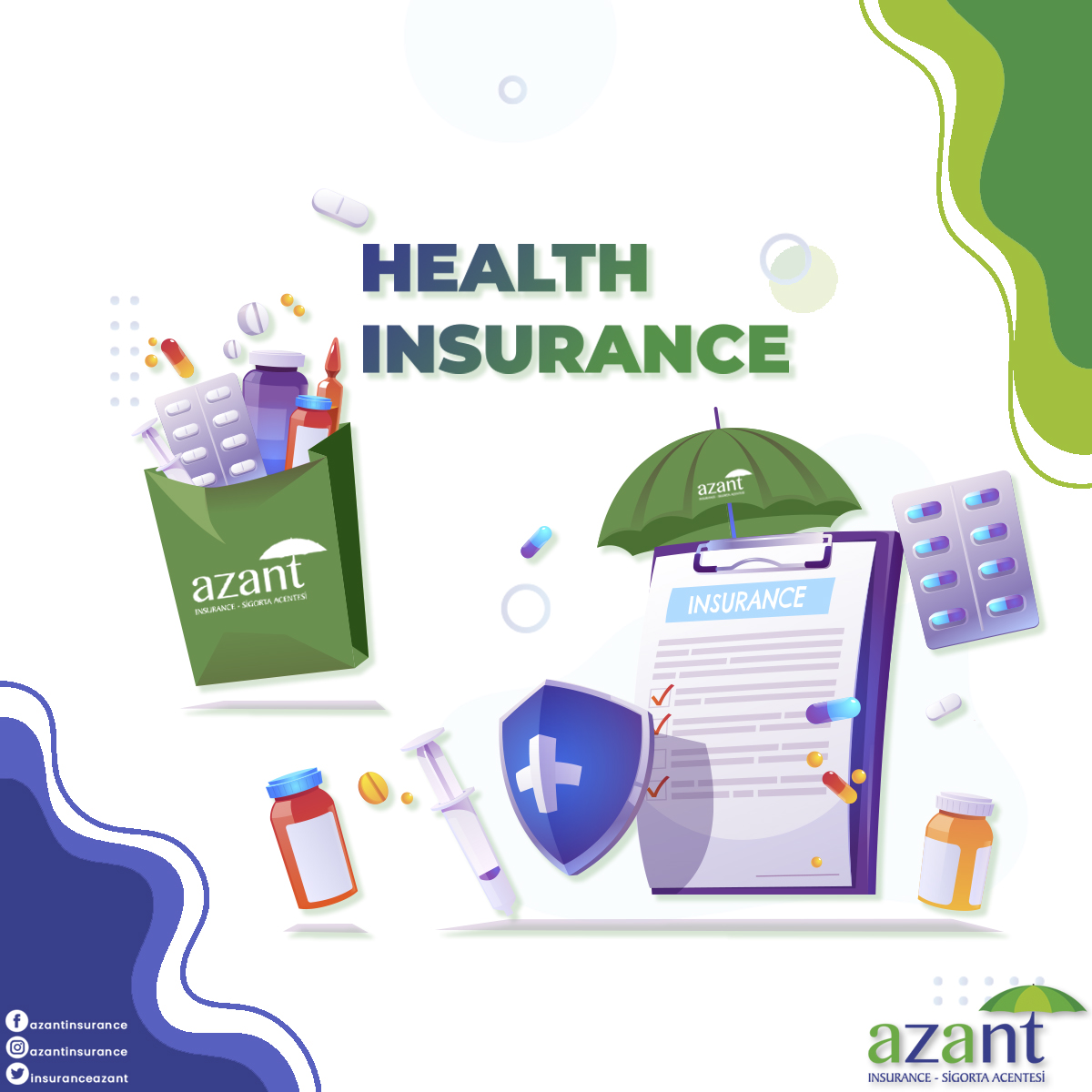 Your most valuable asset is your health! You can contact us about our services.  https://t.co/05zVvPSbJV  #azantinsurance #insurance #insuranceagency #insurancelife #investment #health #healthy #healthylifestyle #healthylife #healthyliving #healthinsurance #cyprus #northcyprus https://t.co/LFNEsAoqZr