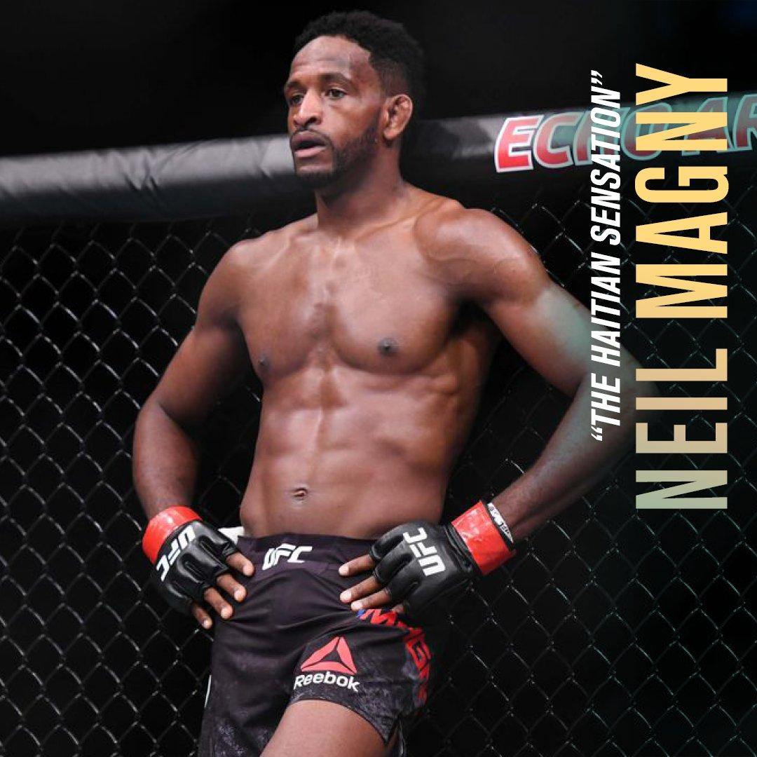 """الفوز أم الخسارة...  ذلك لا يغير من حقيقة شَراسة  """"نيل ماجني"""" في النّزالات.    بدأ كمتدرب في ساحة الفنون القتالية المختلطة في عمر 17 عاماً، والآن هو مقاتل محترف يضع بطولة الـ @UFC نصب عينيه.   شاهد نزاله ضد """"مايكل كيسا"""" في ثلاثية #جزيرة_النزال من UFC. https://t.co/KGBgBHqeg6"""
