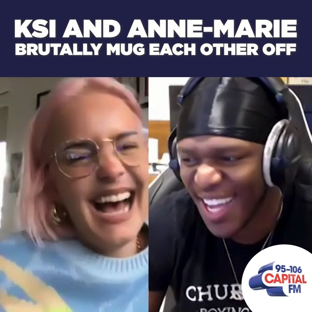 And it was on this day that we broke @AnneMarie and @KSI's friendship... 💔