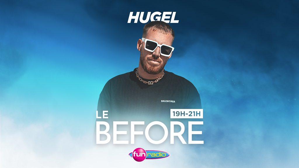 Demain @HUGELTHUG sera notre invité dans Le Before à partir de 19H 👉 qui a hâte d'écouter son mix ? ♥️