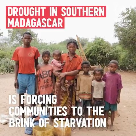 Drought and the pandemic are doubling the number of hungry people in Southern #Madagascar. Severe malnutrition rates continue to spiral.   🔴 WFP is calling for urgent action: