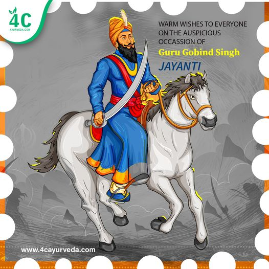May Guru Gobind Singh Ji give you all the courage and strength to fight the evil and ability to always stand by the side of truth.  Happy Guru Gobind Singh Ji Jayanti.  #health #healthylife #immune #immunesystem #ayurveda #4cayurveda #immunorevival #kidneyrevival #heartrevival https://t.co/8ge11Bx8we