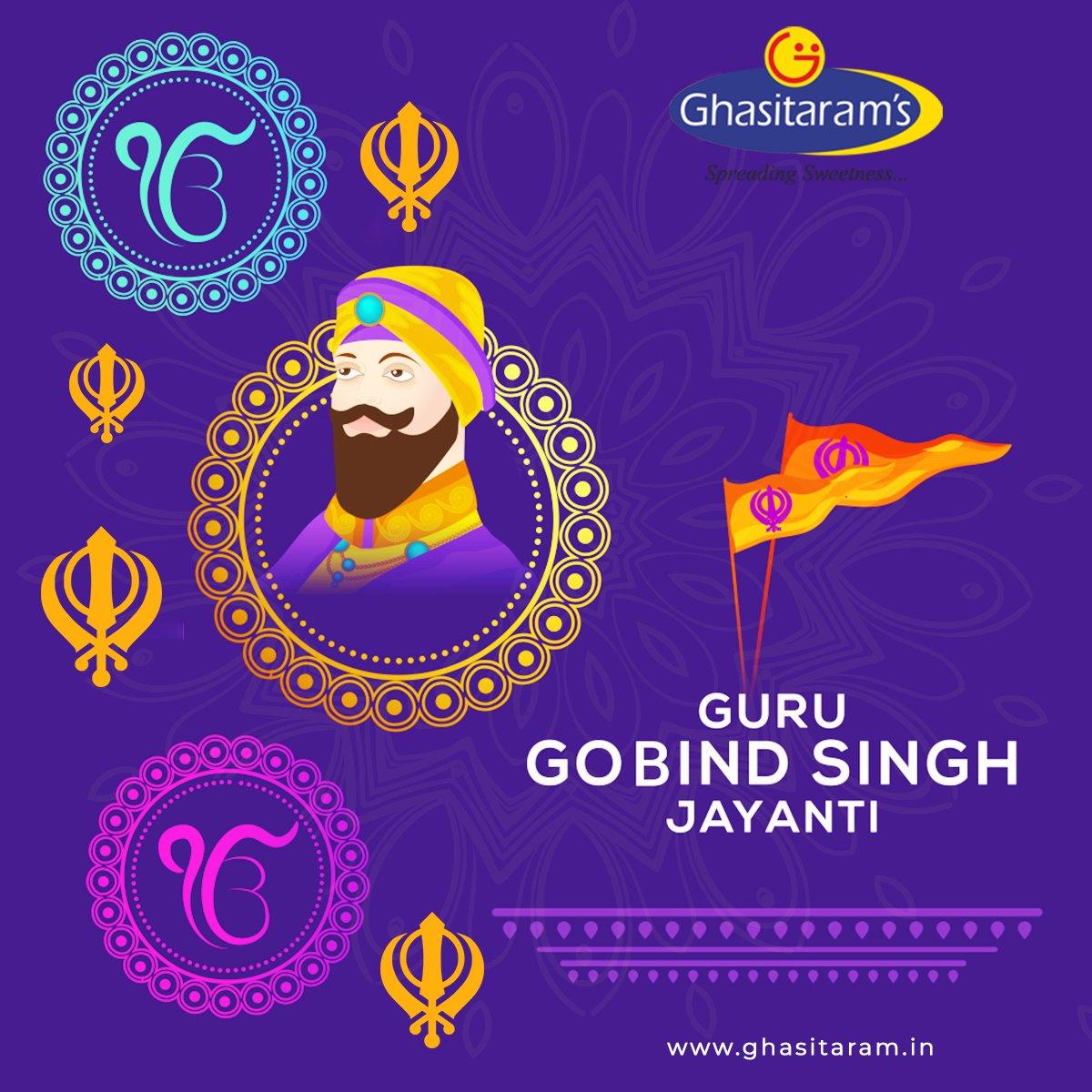 You cannot forget the option of Doing Good for society at large - #GuruGobindSingh ji @Ghasitaram1 Salutes the Great Warrior on his Jayanti  #ghasitarams #गुरु_गोविंद_सिंह_जयंती #gurugobindsinghjayanti #gurugobindjayanti2021 #happygurugobindjayanti #Mumbai #Delhi #punjab