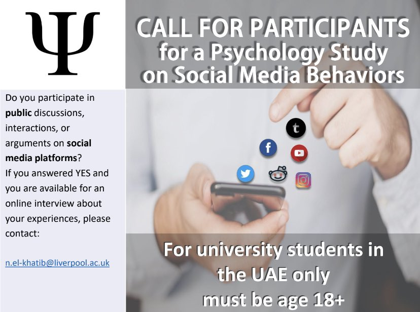 I'm looking for college students in the UAE to answer a few questions for me if they fit the below description. #UAE only, would appreciate a RT! https://t.co/KZWWctKQsW