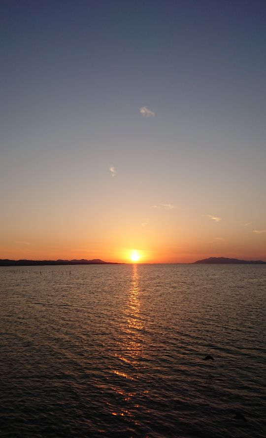 ずーっといいお天気のまま暮れた🌅 本日も @SOBAYUZAN よろしくどうぞー #SUNSET