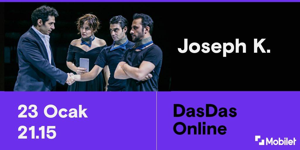 """DasDas Joseph K. ile dijital platformda sanatı evinize taşıyor🎊 Kafka'nın """"Dava""""sı, yeniden görülmek üzere modern hayatın labirentlerine geri dönüyor!"""
