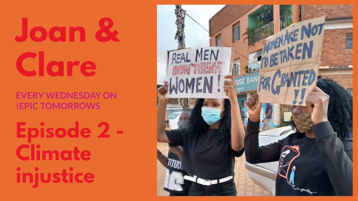 Episode 2 of JOAN AND CLARE @joanandclare1 -Climate injustice.   I really enjoyed recording this episode (actually I really enjoyed recording all the episodes). Check it out!  @vanessa_vash   https://t.co/OkhVPs4oea https://t.co/UxulfHoOf3