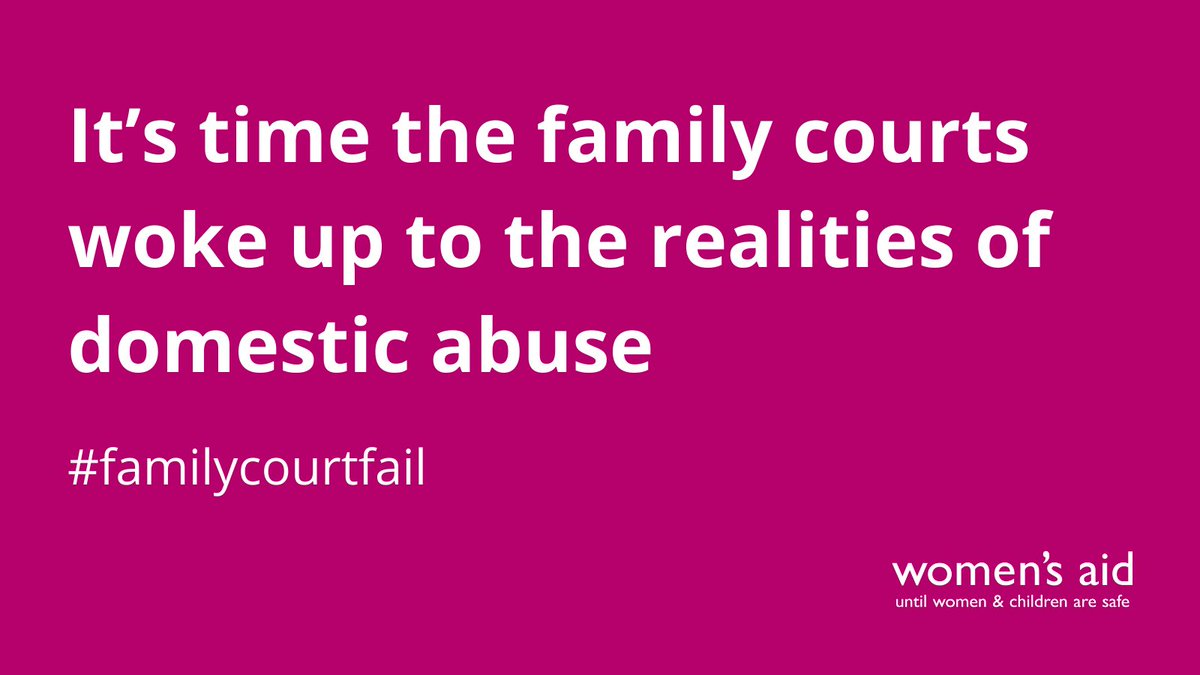 Starting yesterday and for the first time in 20 years, the Court of Appeal is hearing four joined cases where women are seeking to overturn decisions made in the family courts.   #familycourtfail  👇  (1/3)
