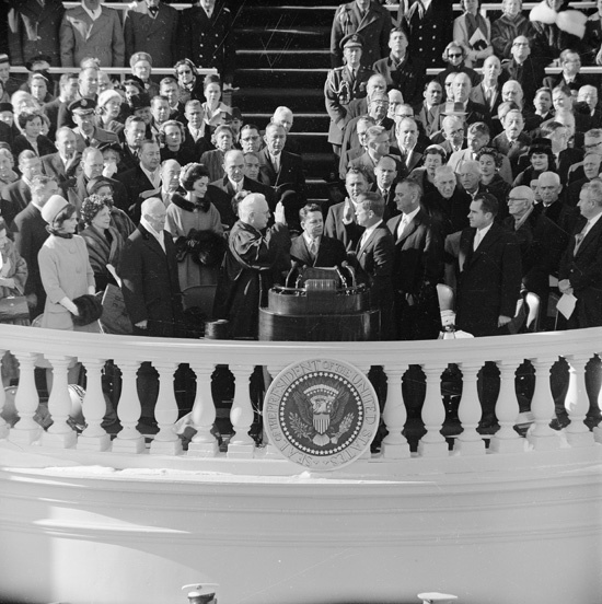 Democrat John F. Kennedy was sworn in as President of the United States 60 years ago, #OTD 1961  #InaugurationDay