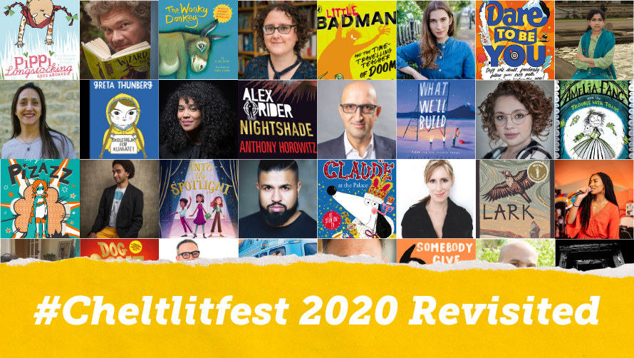 Teachers and home educators - We've made the #cheltlitfest family and schools programme available again until Feb 12.   ▶️    Including: @CarrieHFletcher, @AnthonyHorowitz, @Alex_T_Smith, @DapsDraws, @Lillustrator, @LondonBessie, @matthewsyed & more