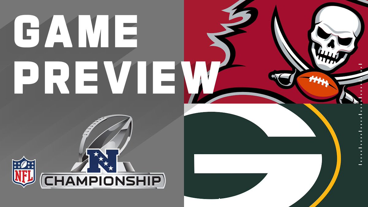 ##NFLVideos: Tampa Bay Buccaneers vs. Green Bay Packers  | #NFL 2021 Conference Championship Preview    https://t.co/cwdNJM5hZC   #AmericanFootball #AmericanFootballVideos #Football #FootballVideos #NationalFootballLeague #NFLVlog #Sport #Sports #Video #Videos #Vlog https://t.co/jiBm5KgGBY