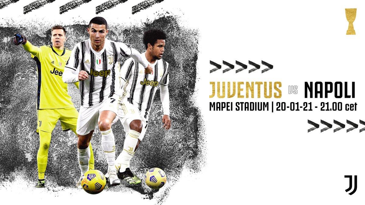 ⚪️⚫️ 𝗩𝗜𝗡𝗖𝗜𝗔𝗠𝗢𝗟𝗔! 🏆 #PS5Supercup 🆚 @sscnapoli  🏟 Mapei Stadium ⏰ 21:00 CET 📲 #JuveNapoli