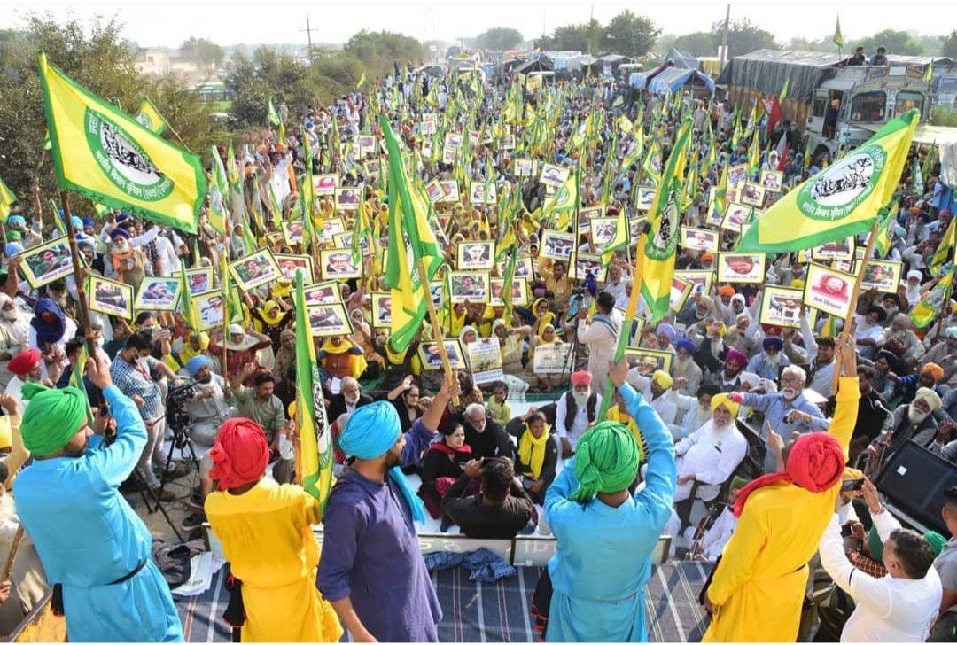कोण कहेता हे अब #आंदोलन होंगा आभी तो #रण होंगा....!! #जय_जवान_जय_किसान  #FarmersProtest
