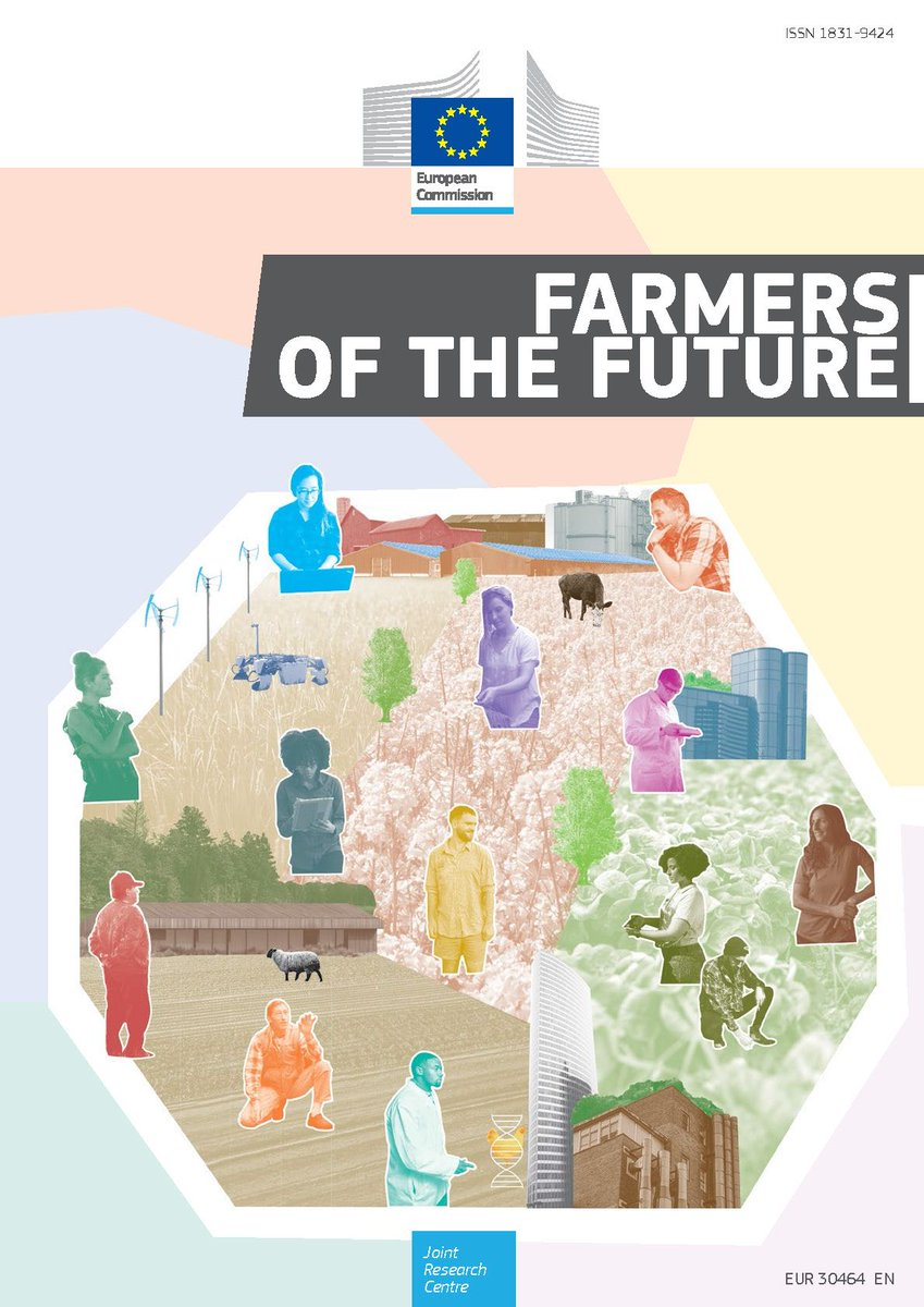 #Farmers of the future: 12 personas to explore the future of farmers & #farming by 2040  #adaptive #corporate #intensive #patrimonial #technophile #cell #socialcare #lifestyle #regenerative #urban #serioushobby #communityprovisioning v @EU_Commission