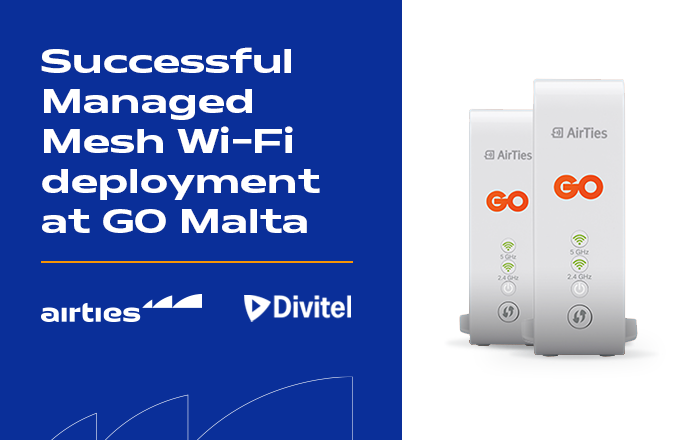 Another great milestone in our collaboration with @Divitel_NL We are delighted to enable great connectivity for consumers in Malta, especially with an increased need for people to work from home. Learn more: https://t.co/Zh3TVdqnWr  #wifintelligence #smartwifi #wifi https://t.co/GLd42JcDI1