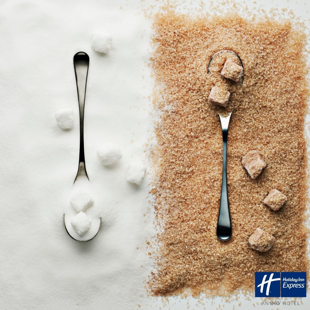 Do you know that the daily maximum recommended intake of free sugars is less than 7 teaspoons for an adult and 5 - 6 for a child? Can you guess, how much sugar is present in a can of your favorite drink? #sugar #sugarawarenessweek #healthy #lifestyle #bar #hotelbar