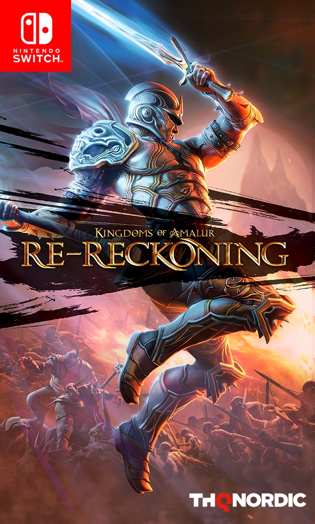 There will be both, a digital and a physical edition available for the Nintendo Switch version of Kingdoms of Amalur: Re-Reckoning. The physical edition will have the FULL game on the cartridge, NO downloads are required. #ReReckoning