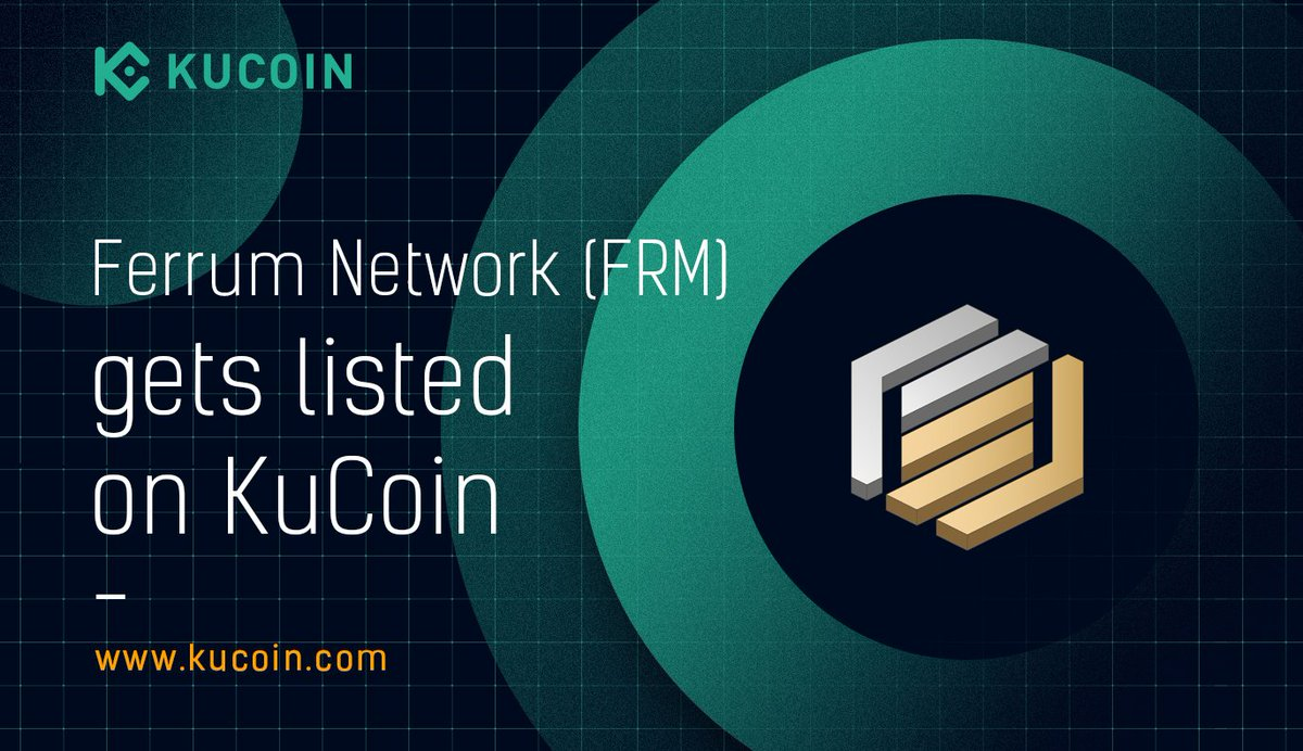🔥 $FRM trading is now live! FRM/USDT ➡️ https://t.co/5jXGngwXHU Find out more about $FRM in the #KuCoinCryptoGem card