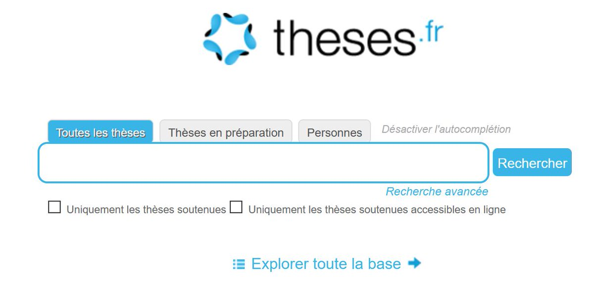 Just added now to our portal of free resources is Theses.fr theses.fr - search this database of French theses and where the record includes an Accéder en ligne you can access that particular thesis online.