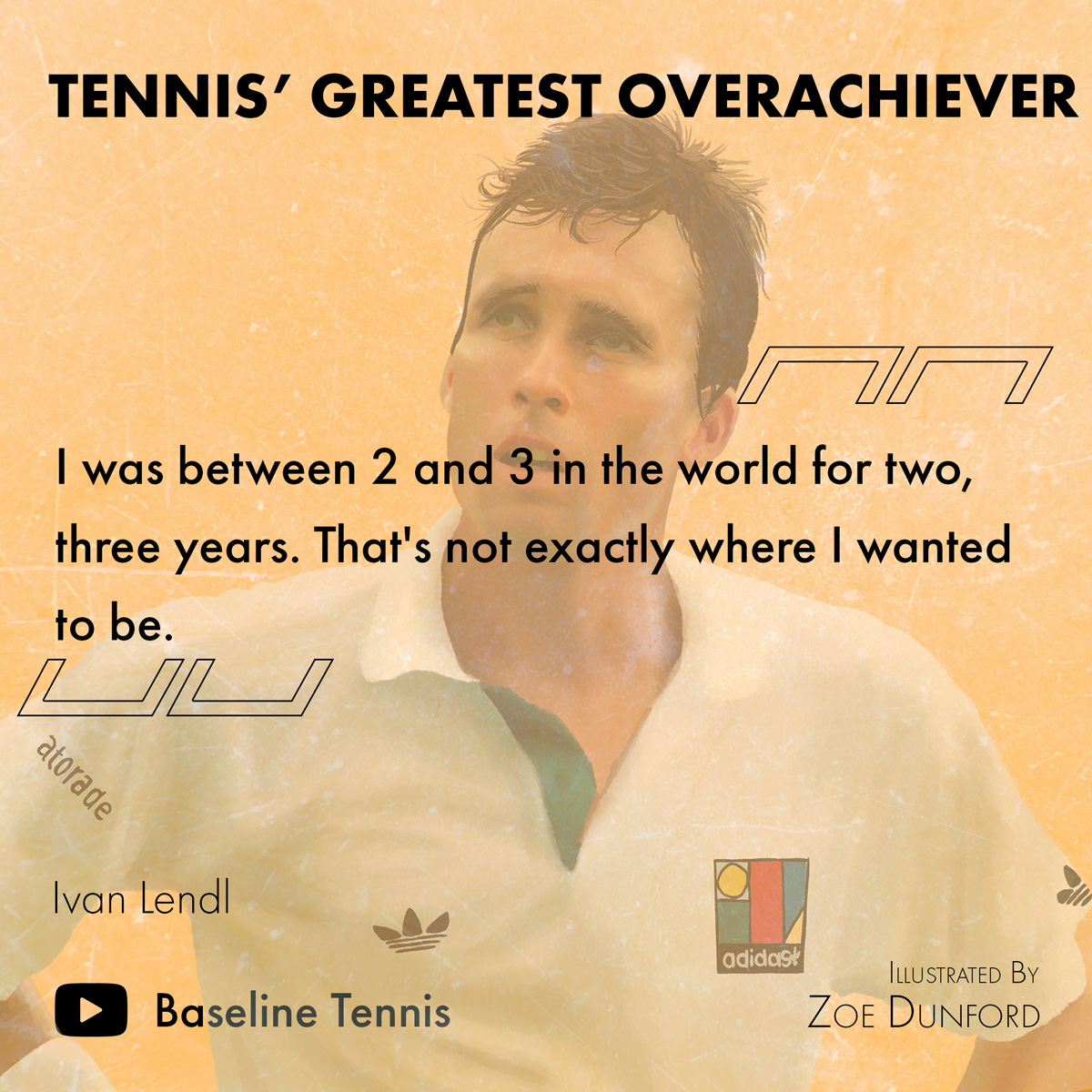 More so than any other tennis champion, Lendl systematised what it takes to perform consistently at a peak level.   🎬 @HarryBmotion & @cviner87 on Ivan Lendl: Tennis' Greatest Overachiever. 👀📺👇    #lendl #tennis #ATPCup #atptour #ATP #usopen