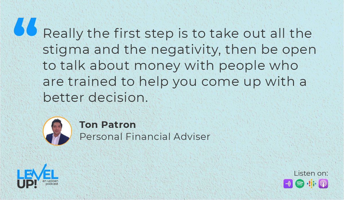 Start your journey towards financial wellness by changing your perspective and educating yourself.  Learn more about personal finance by listening to our podcast episode with Ton Patron:    #FinancialWellness #Podcast