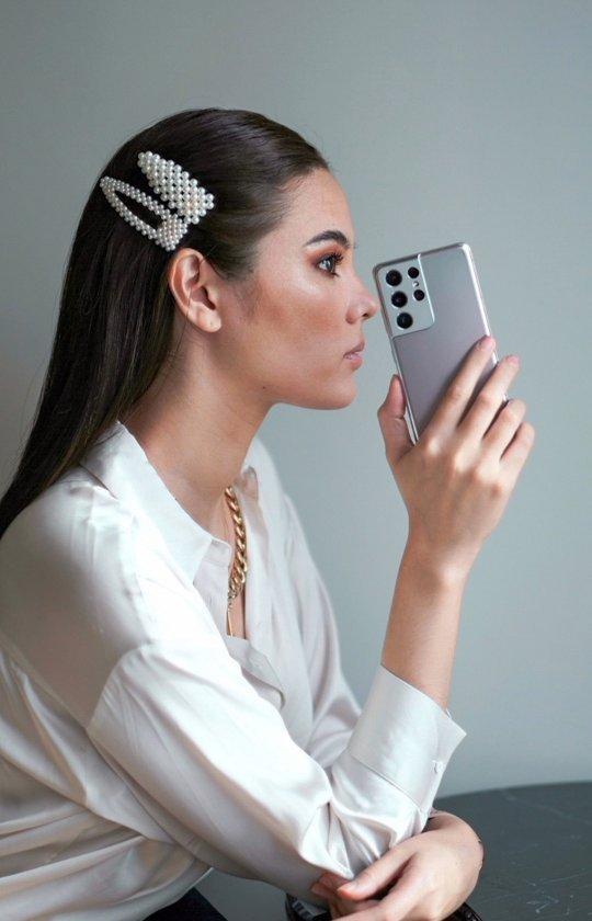Queen @catrionaelisa introducing the newest #GalaxyS21 Ultra 5G 😍 @SamsungPH #SamsungAmbassador #CatrionaGray #TeamGalaxy  #Samsung